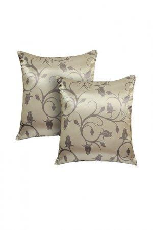 Комплект декоративных подушек ORNETTA. Цвет: бежевый