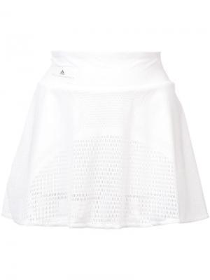 Юбка Barricade Adidas By Stella Mccartney. Цвет: белый