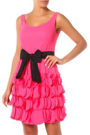 Платье Maria Grazia Severi. Цвет: бордовый