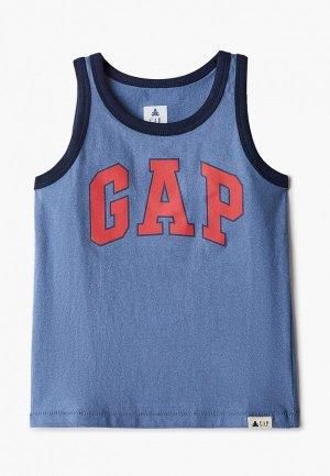 Майка Gap. Цвет: синий