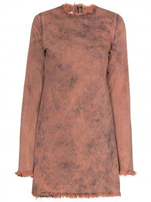 MarquesAlmeida платье мини Janis Marques'Almeida. Цвет: розовый