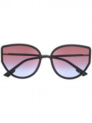 Солнцезащитные очки SoStellaire4 Dior Eyewear. Цвет: черный