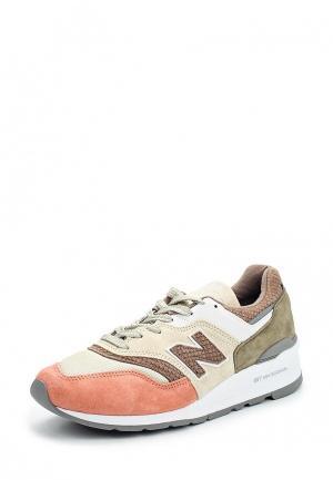 Кроссовки New Balance. Цвет: разноцветный
