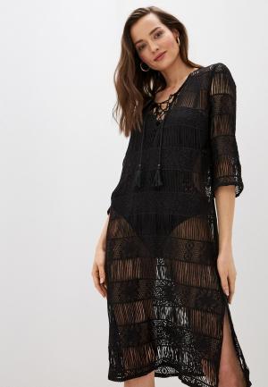 Платье пляжное Allegri. Цвет: черный