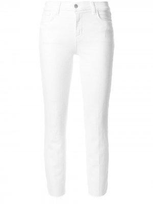 LAgence укороченные джинсы L'Agence. Цвет: белый
