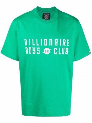 Футболка с логотипом Billionaire Boys Club. Цвет: зеленый