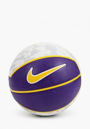 Мяч баскетбольный Nike. Цвет: фиолетовый