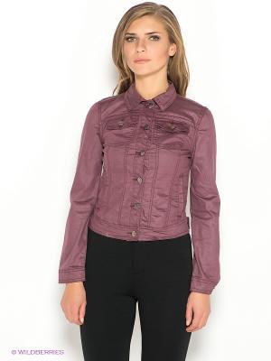 Куртка Ada Gatti. Цвет: бордовый