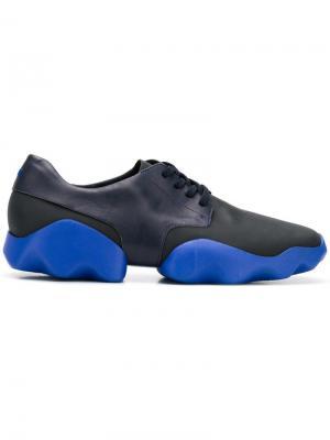 Кроссовки на шнуровке Camper. Цвет: черный