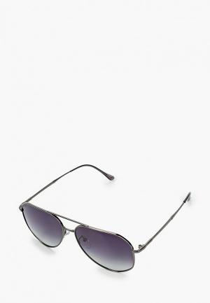 Очки солнцезащитные Mascotte. Цвет: серебряный