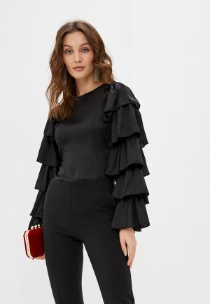 Блуза Tantra. Цвет: черный