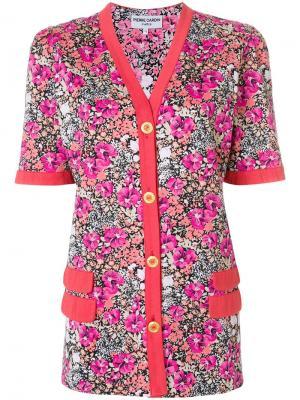 Блузка с цветочным принтом застежкой на пуговицах Pierre Cardin Pre-Owned. Цвет: разноцветный