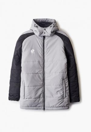 Куртка утепленная Lotto. Цвет: серый