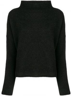 Свитер с горловиной Filippa-K. Цвет: черный