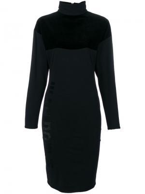 Платье-водолазка Jean Paul Gaultier Vintage. Цвет: черный