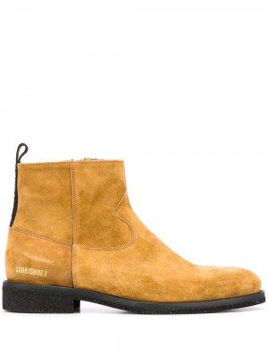 Ботинки Toro Golden Goose. Цвет: коричневый