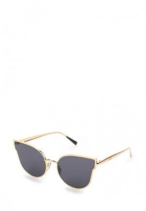 Очки солнцезащитные Max Mara. Цвет: золотой