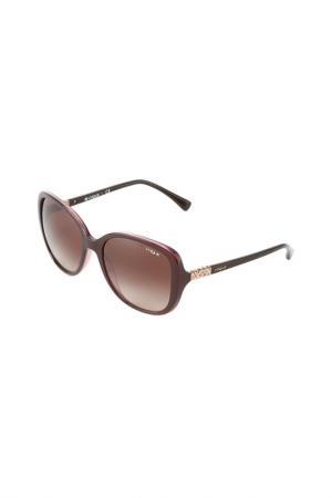 Очки солнцезащитные VOGUE. Цвет: top brown