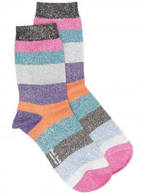 Носки в стиле колор-блок Paul Smith. Цвет: розовый