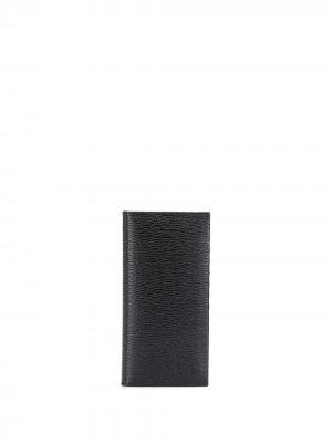 Складной бумажник Gancini Salvatore Ferragamo. Цвет: черный