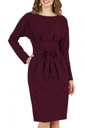 Платье Olivegrey. Цвет: рубиновый