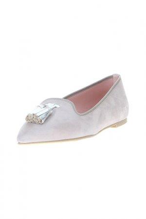 Лоферы Pretty Ballerinas. Цвет: серый