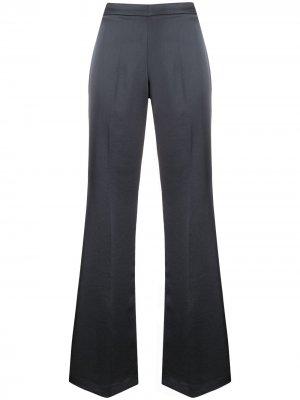 Расклешенные брюки с потайной застежкой P.A.R.O.S.H.. Цвет: серый