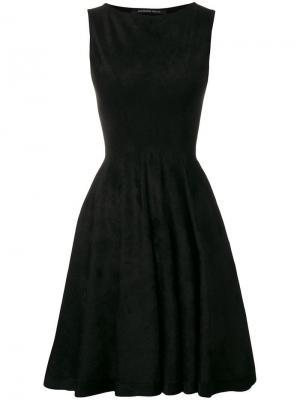 Приталенное платье Antonino Valenti. Цвет: черный