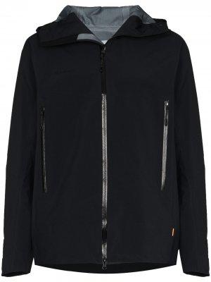 Лыжная куртка Crater Pro с капюшоном Mammut. Цвет: черный