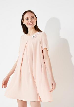 Платье Alessandro DellAcqua Dell'Acqua. Цвет: розовый