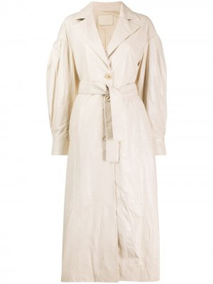 Пальто оверсайз Drome. Цвет: нейтральные цвета