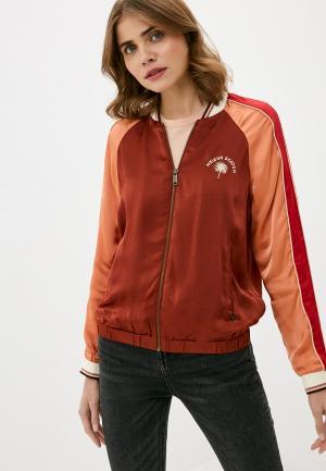Куртка Scotch&Soda. Цвет: бордовый