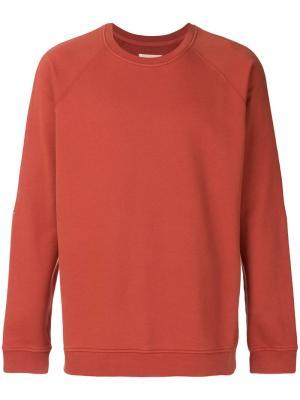 Rivet sweatshirt Folk. Цвет: красный
