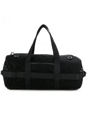 Спортивная сумка Balmain. Цвет: черный
