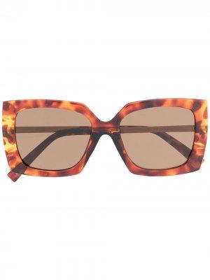 Солнцезащитные очки Discomania Alt Fit Le Specs. Цвет: коричневый