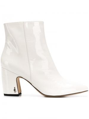 Pointed toe ankle boots Sam Edelman. Цвет: белый