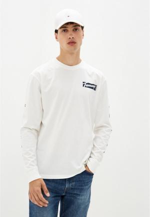 Лонгслив Tommy Jeans. Цвет: белый