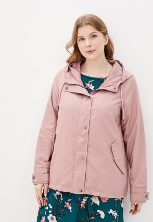 Куртка Zizzi. Цвет: розовый