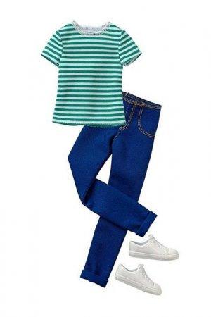 Морской наряд для Кена Barbie. Цвет: мультицвет