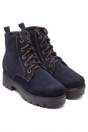 Ботинки VALLEY. Цвет: синий