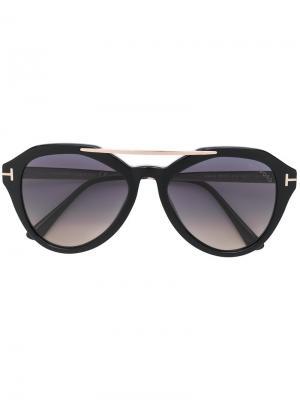 Солнцезащитные очки FT0576S Tom Ford Eyewear. Цвет: черный
