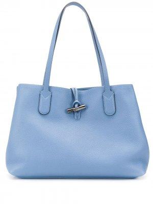 Сумка-тоут Essential Longchamp. Цвет: синий