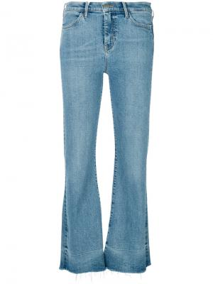 Расклешенные джинсы Lou Mih Jeans. Цвет: синий