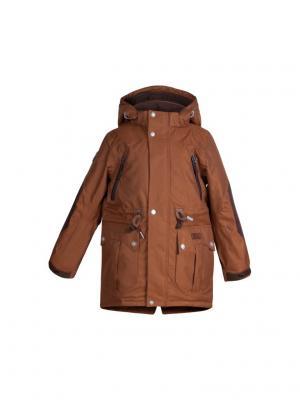 Куртка atPlay. Цвет: коричневый