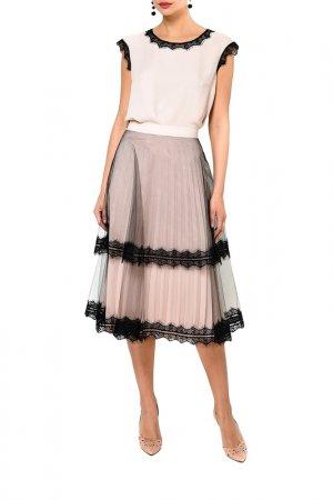 Комплект: топ, юбка Caterina Leman. Цвет: розовый (00/11)