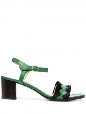Босоножки Portofino Tila March. Цвет: зеленый