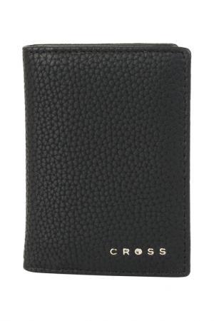 Визитница Cross. Цвет: черный