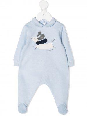 Пижама Little Mouse Il Gufo. Цвет: синий