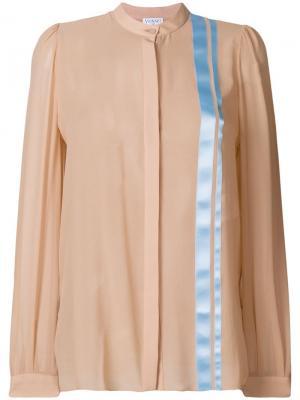Блузка с полосками Vionnet. Цвет: нейтральные цвета