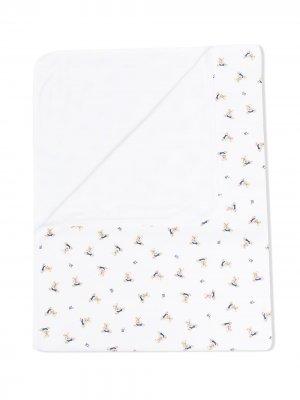 Одеяло Polo Bear Ralph Lauren Kids. Цвет: белый